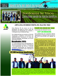 BOLETINES DE DIVULGACION liberacion 2016